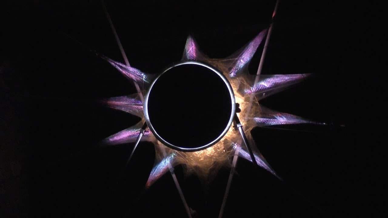 Sole di Mezzanotte, l'eclissi in cascina - Rete55
