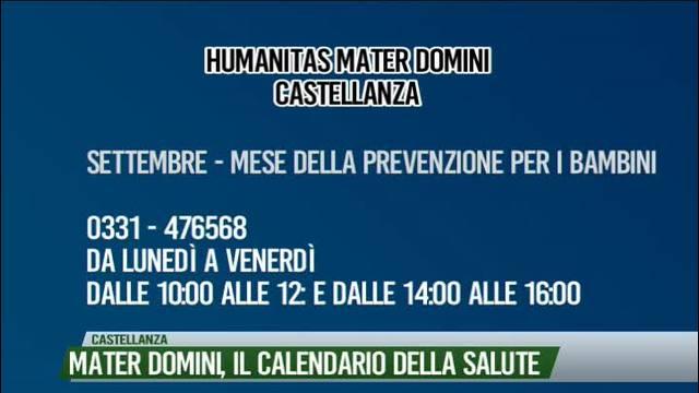 Calendario Della Salute.Mater Domini Il Calendario Della Salute